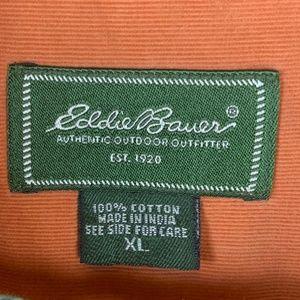 Eddie Bauer Shirts - Eddie Bauer Men's Cotton Corduroy LS Shirt XL